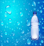 Bottle of water 1,5 Royalty Free Stock Photos