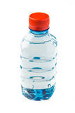 A bottle of water with an orange lid Stock Images