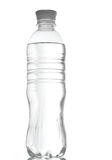 Bottle of water  over a white Stock Photography