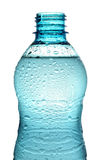 Bottle with water splash isolated. Open bottle with water splash isolated Stock Photos