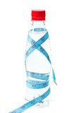 Bottle water weight loss Royalty Free Stock Photos