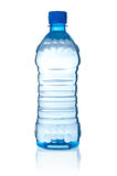 Bottle with water. On white background stock image
