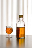 Bottle whiskey Stock Images