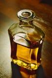 Bottle of whiskey Royalty Free Stock Images