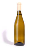 Bottle of white wine Stock Images