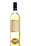 Bottle of white wine Royalty Free Stock Photography