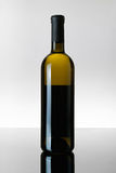 A Bottle of White Wine Royalty Free Stock Photo