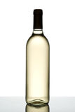 Bottle of white wine. Stock Photos