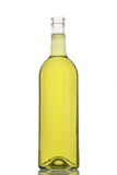 Bottle of white wine. Drink stock image