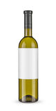 Bottle of white wine -Clipping Path Royalty Free Stock Image