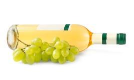 Bottle white Wine Stock Images