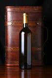 Bottle of white wine Stock Photos