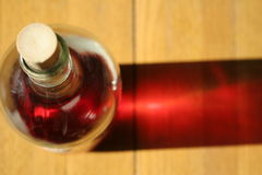 bottle wine Στοκ Εικόνα