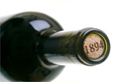 Bottle of wine Stock Images