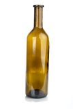 Bottle for wine. On a white background Stock Photography