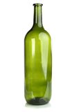 Bottle for wine. On a white background Royalty Free Stock Image
