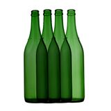Bottle of wine. Isolated in a white background stock photo