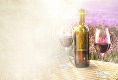 Bottle of wine. Stock Image