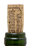 Bottle of wine cork Stock Photography