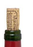 Bottle of wine cork Royalty Free Stock Photography