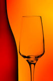 Bottle and wine glass abstract Stock Photos