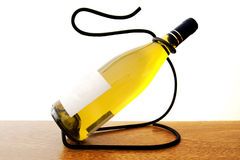 Bottle of wine (Isolated) Royalty Free Stock Image