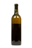 Bottle of Wine Isolated on a White Background stock photo