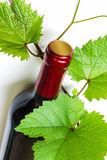 Bottle of wine Royalty Free Stock Photography