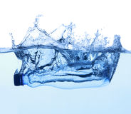 Free Bottle With Pure Water Royalty Free Stock Photos - 27642388