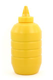 A bottle of yellow mustard Royalty Free Stock Image