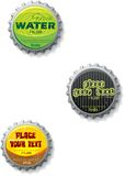 bottlecap nakrętki zakończenia stoppers Fotografia Stock