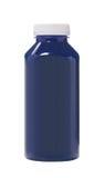 Bottled Blue water color Stock Image
