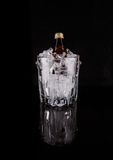 Bottled Drink And Ice Bucket I Royalty Free Stock Photos