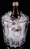 Bottled Drink And Ice Bucket II Stock Image