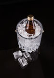Bottled Drink And Ice Bucket V Royalty Free Stock Images