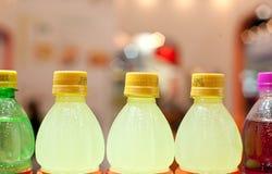 Bottled drinks Stock Photos