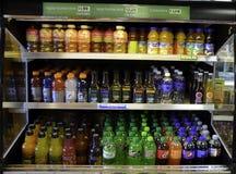 Bottled drinks Stock Photography