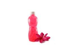 Bottled fruit juice Stock Image