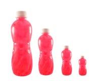 Bottled fruit juice Royalty Free Stock Photo