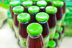 Bottled juice Royalty Free Stock Photo