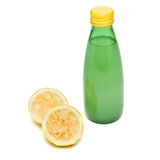 Bottled Lemon Juice Royalty Free Stock Photography