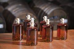 Bottled liquor Royalty Free Stock Photos