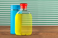 Bottled Lotions Stock Photography