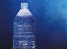 Bottled mineral water Stock Image