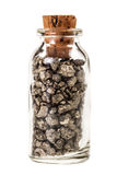 Bottled Pyrite Stock Image
