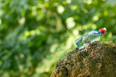 Bottled spring water Royalty Free Stock Photos