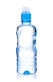 Bottled water. For healthy life over a white background stock photo