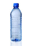 Bottled Water. Isolated over a white background royalty free stock images