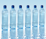 Bottled water Stock Photography