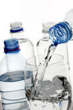 Bottled water Royalty Free Stock Photos
